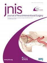Journal of NeuroInterventional Surgery: 10 (3)