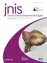 Journal of NeuroInterventional Surgery: 10 (7)