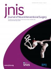 Journal of NeuroInterventional Surgery: 11 (11)