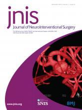 Journal of NeuroInterventional Surgery: 11 (12)
