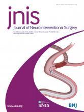 Journal of NeuroInterventional Surgery: 11 (3)