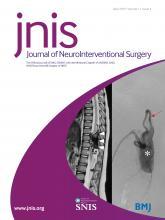 Journal of NeuroInterventional Surgery: 11 (4)