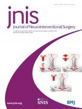 Journal of NeuroInterventional Surgery: 12 (1)