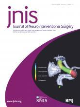 Journal of NeuroInterventional Surgery: 12 (10)