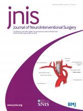 Journal of NeuroInterventional Surgery: 12 (12)