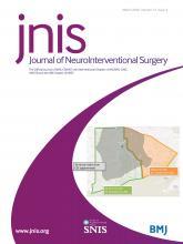 Journal of NeuroInterventional Surgery: 12 (3)