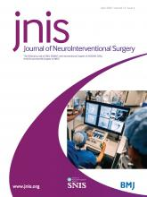 Journal of NeuroInterventional Surgery: 12 (4)
