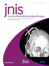 Journal of NeuroInterventional Surgery: 12 (5)