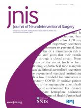 Journal of NeuroInterventional Surgery: 12 (6)