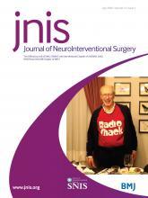 Journal of NeuroInterventional Surgery: 12 (7)