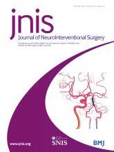 Journal of NeuroInterventional Surgery: 13 (10)