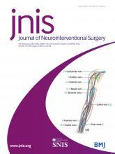 Journal of NeuroInterventional Surgery: 13 (4)