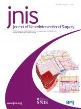 Journal of NeuroInterventional Surgery: 13 (5)