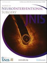 Journal of NeuroInterventional Surgery: 4 (4)