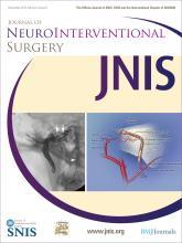Journal of NeuroInterventional Surgery: 4 (6)