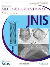 Journal of NeuroInterventional Surgery: 5 (2)