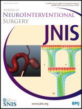 Journal of NeuroInterventional Surgery: 5 (4)
