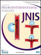 Journal of NeuroInterventional Surgery: 5 (5)