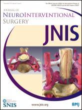 Journal of NeuroInterventional Surgery: 5 (6)