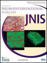Journal of NeuroInterventional Surgery: 6 (5)