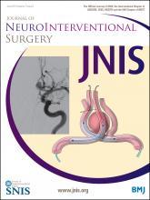 Journal of NeuroInterventional Surgery: 7 (6)