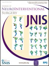 Journal of NeuroInterventional Surgery: 8 (1)