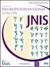 Journal of NeuroInterventional Surgery: 8 (1)
