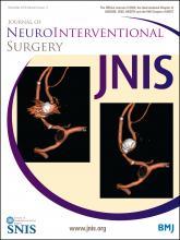 Journal of NeuroInterventional Surgery: 8 (11)