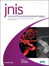 Journal of NeuroInterventional Surgery: 9 (1)