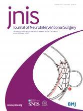 Journal of NeuroInterventional Surgery: 9 (10)