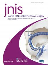 Journal of NeuroInterventional Surgery: 9 (12)