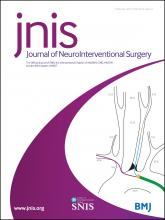 Journal of NeuroInterventional Surgery: 9 (2)