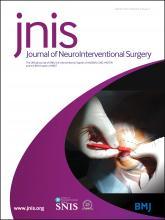 Journal of NeuroInterventional Surgery: 9 (3)