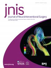 Journal of NeuroInterventional Surgery: 9 (4)