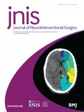 Journal of NeuroInterventional Surgery: 9 (5)
