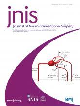 Journal of NeuroInterventional Surgery: 9 (9)